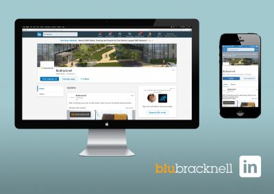 Digital Marketing - Social Media - LinkedIn - BluBracknell