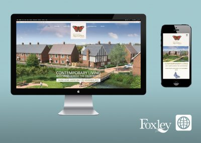 Digital Marketing - Website - Ballingdon Meadows