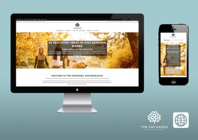 Digital Marketing - Website - The Orchards