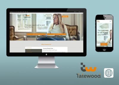 Digital Marketing - Website - Tatewood Estate Agents