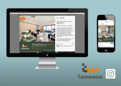 Digital Marketing - Social Media - Instagram - Tatewood