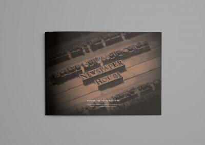 Newspaper House brochureCoverWeb