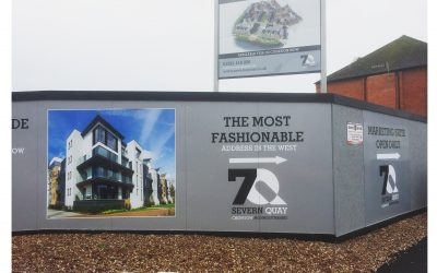 House Marketing Bring the Life Back to Severn Quay signage in Chepstow, Wales