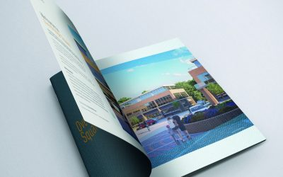 House Create Brochure for Overbridge Square Newbury
