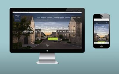 House Marketing create website for Merlin Rise