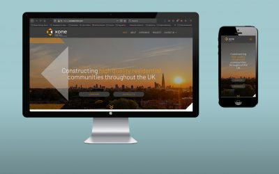 House Create Branding & Website for New Construction Firm Xone Kontrol
