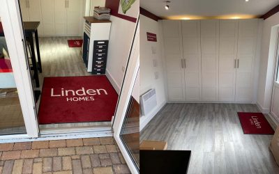 Brand New Marketing Suite for Linden's Saxon Gate Scheme