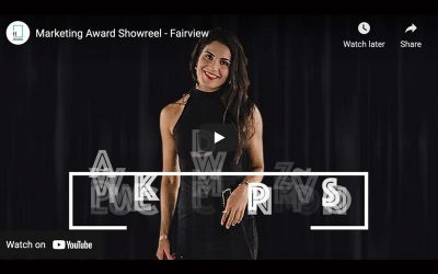 House Marketing Create Award Entry Video for Fairview Marketeer